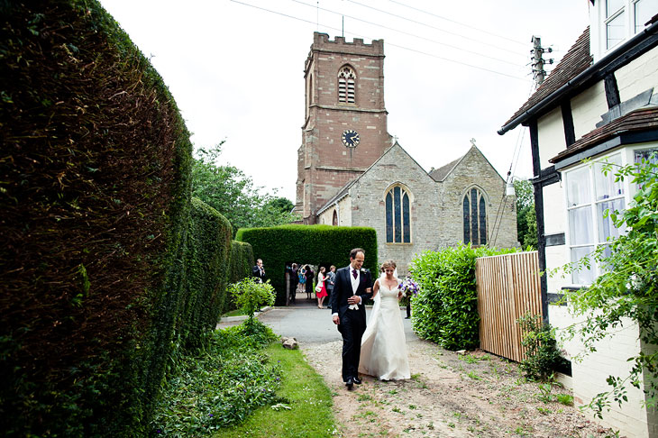 Mary and Simon - Wedding Photography in Much Marcle, Herefordshire