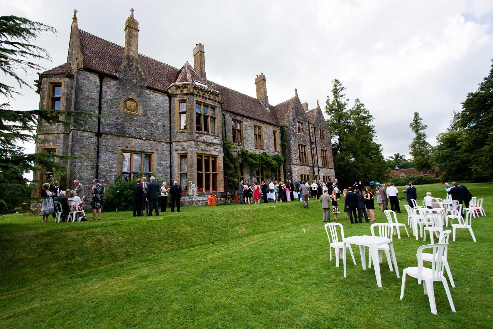 Wedding Photography at Huntsham Court