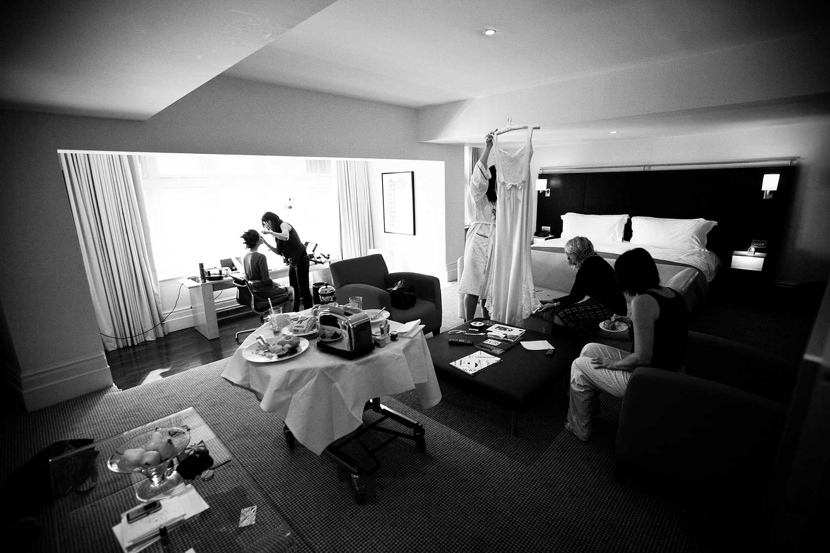 Reportage Wedding Photography at Andaz Hotel Liverpool Street