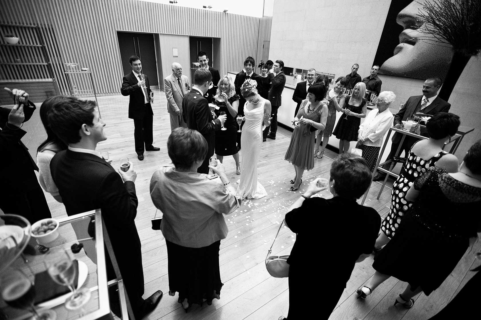 Wedding Photojournalism at Andaz Hotel