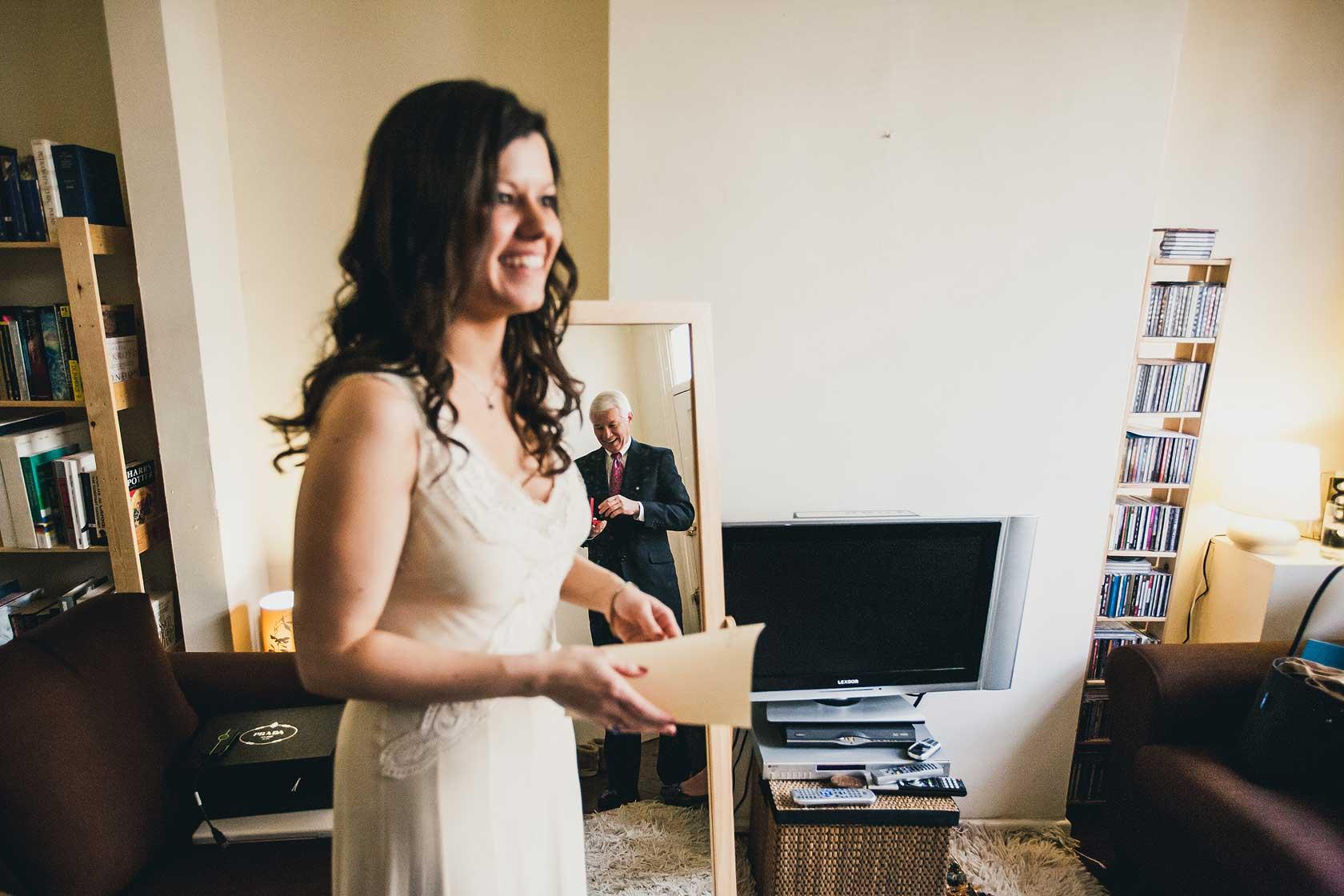 Reportage Wedding Photography at Girton College