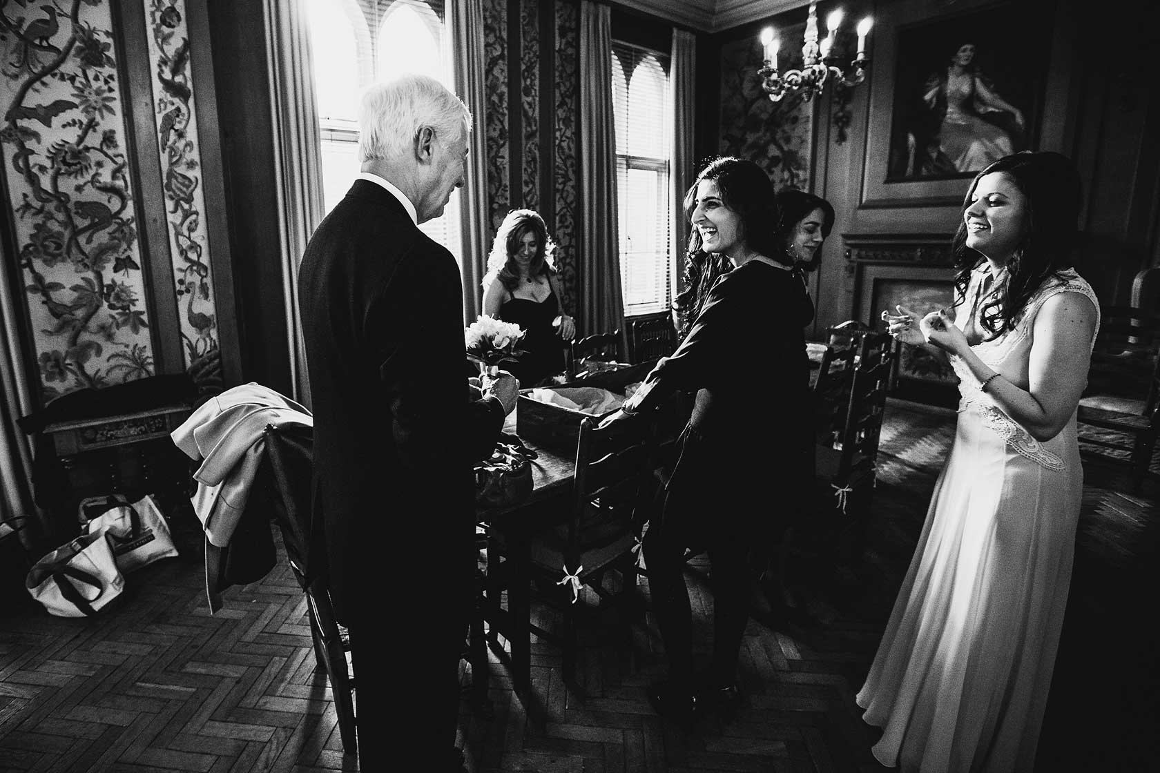 Girton College Wedding in Cambridgeshire