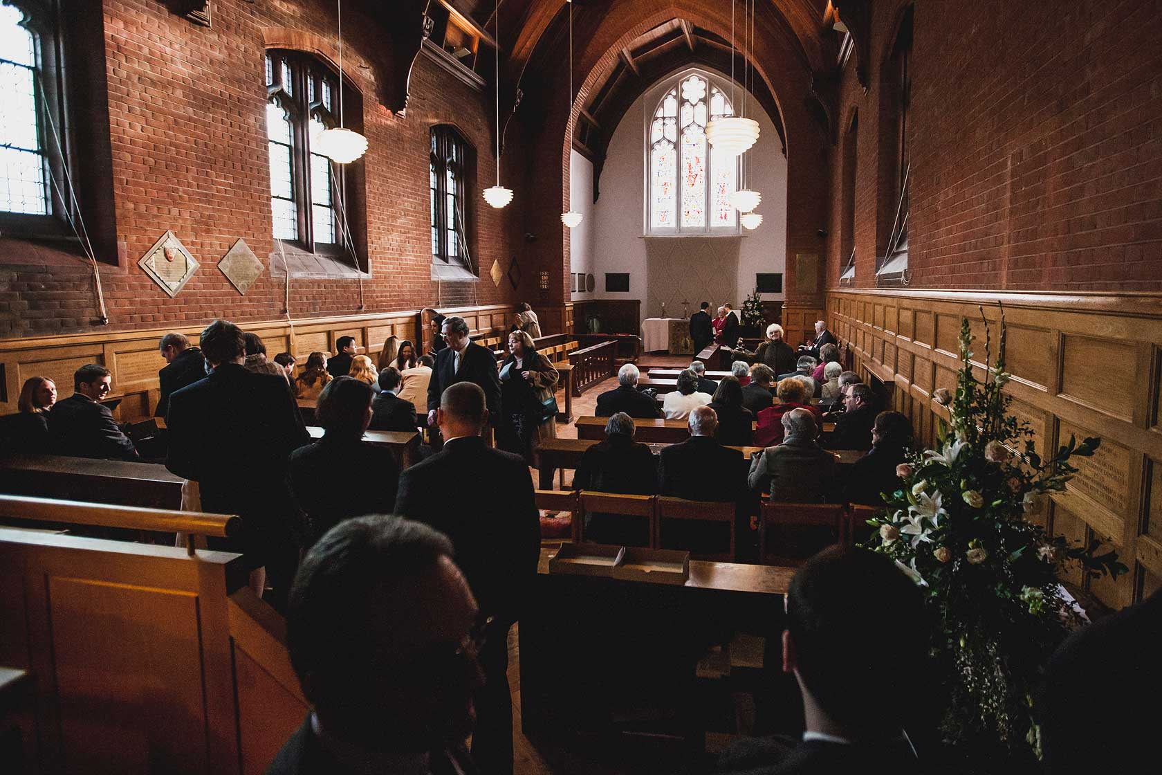 Wedding Photographer at Girton College