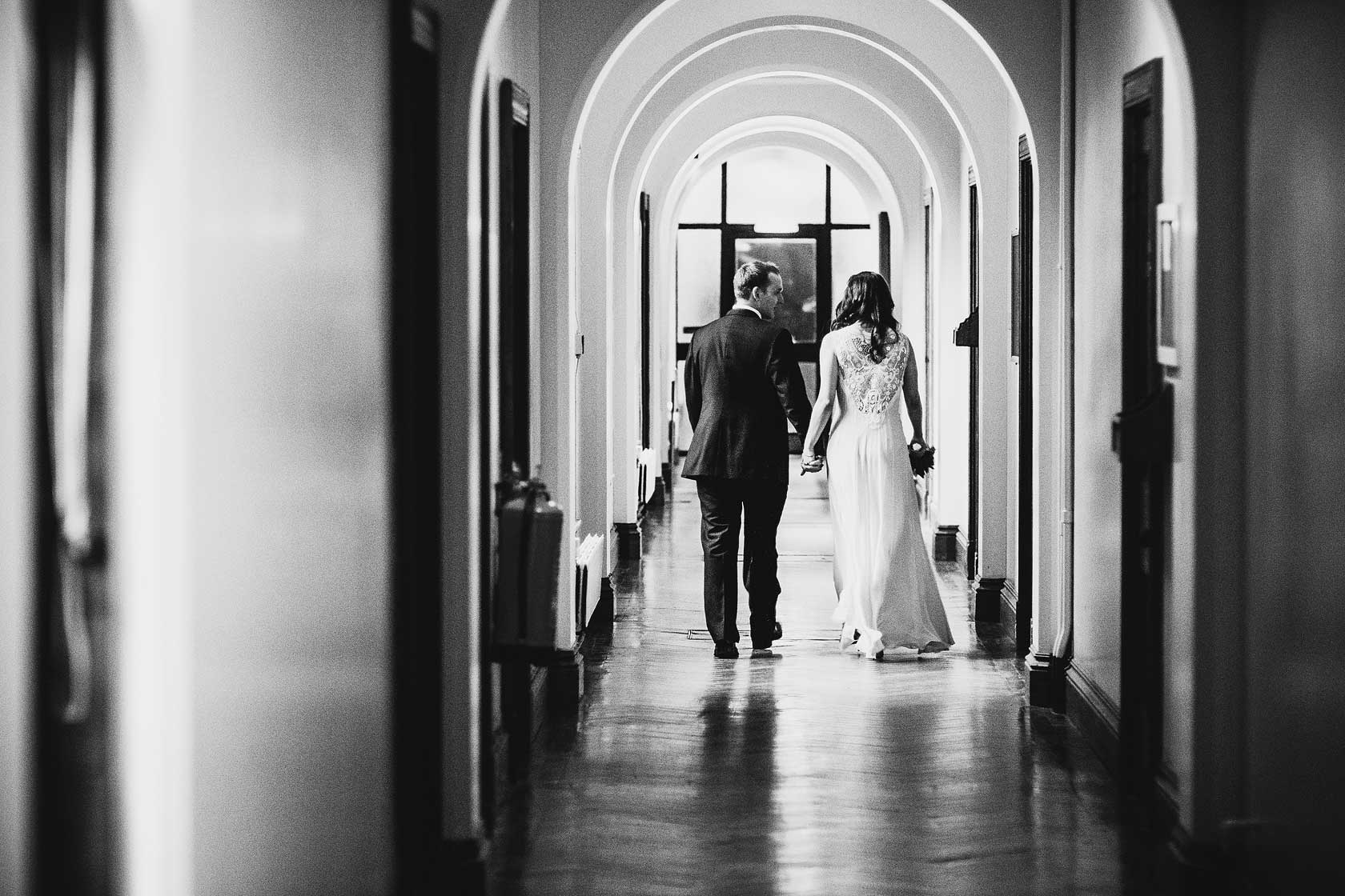 Reportage Wedding Photography at Girton College