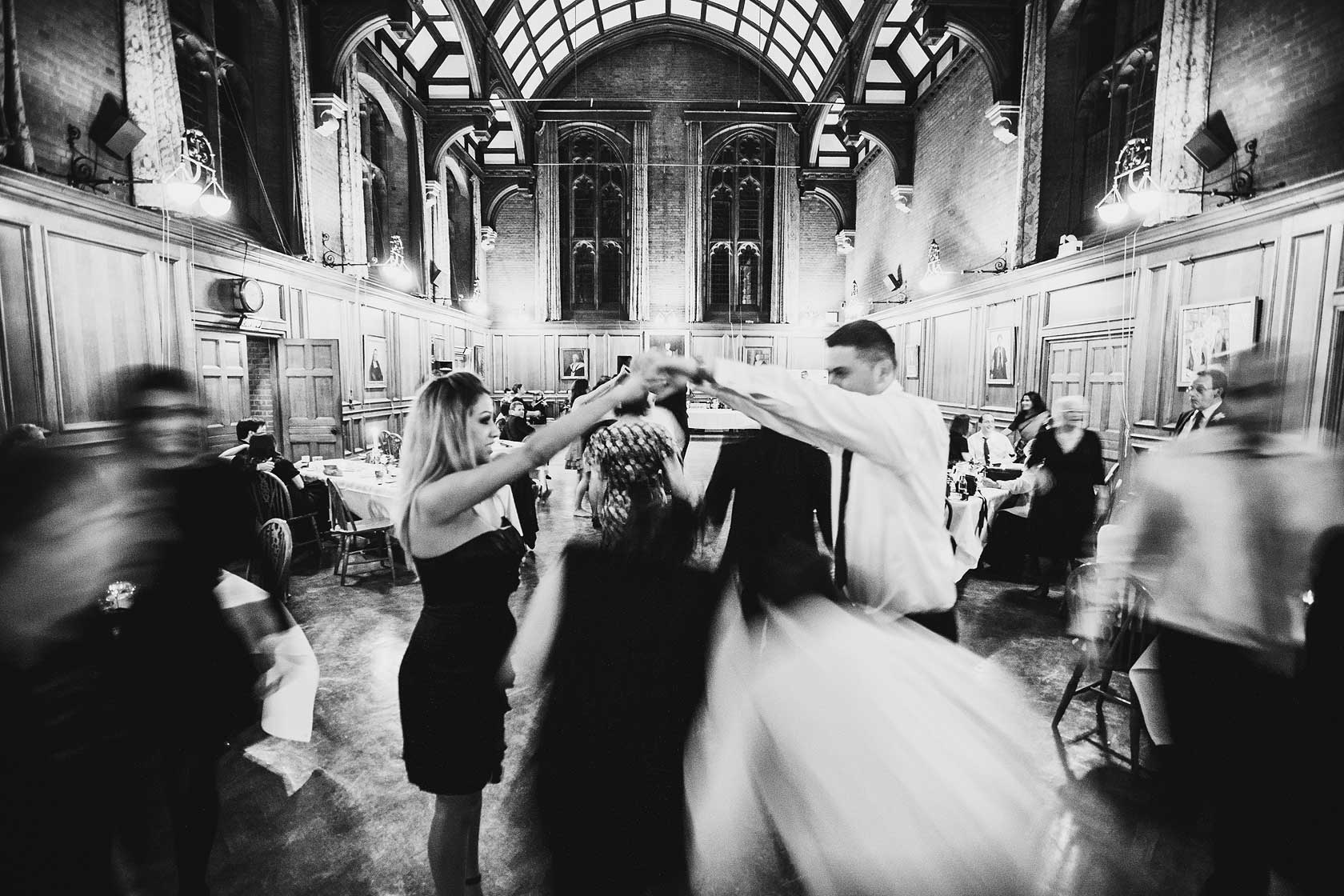 Wedding Photographer at Girton College