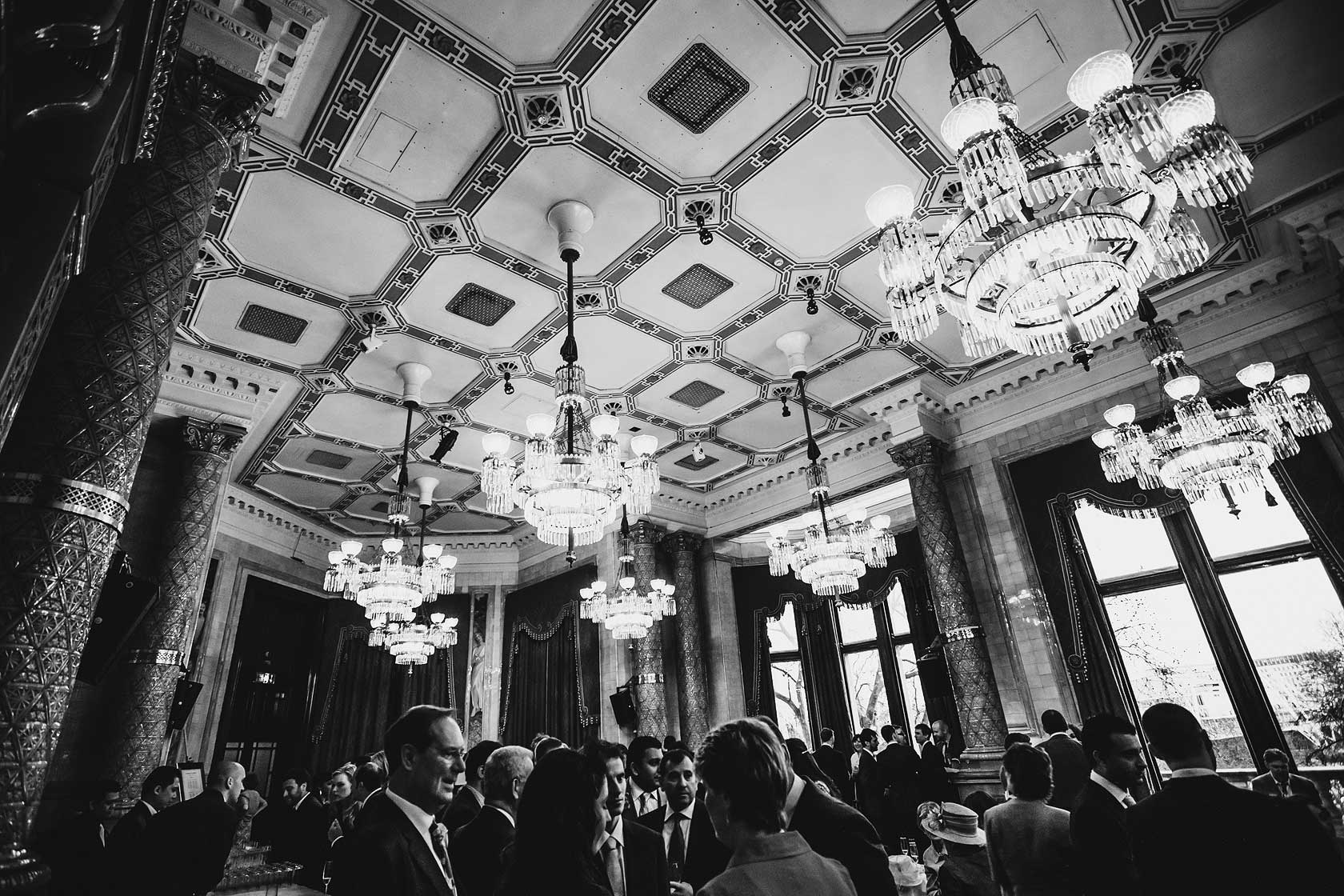 Reportage Wedding Photography at the National Liberal Club