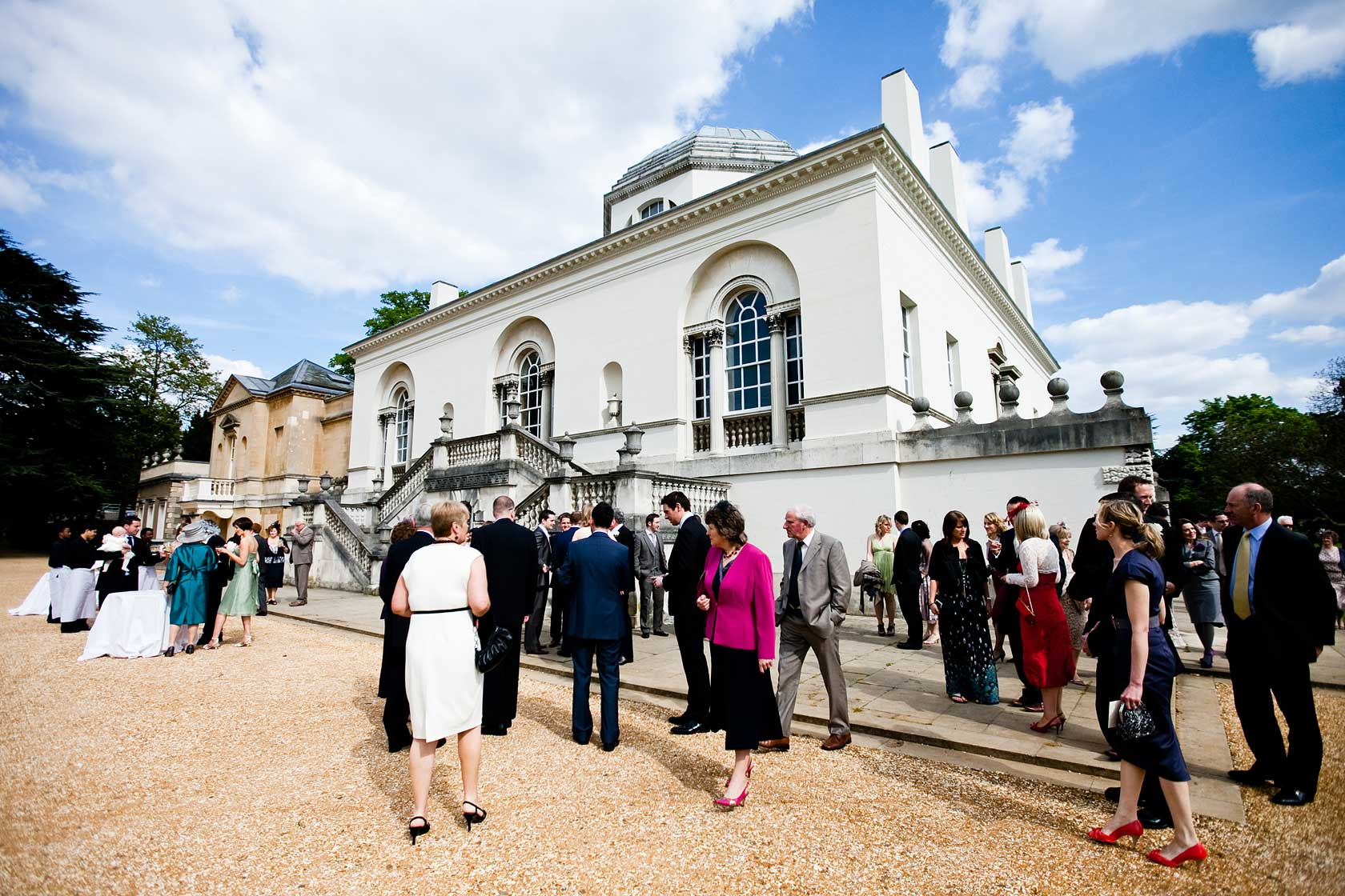 Wedding Photographer at Chiswick House