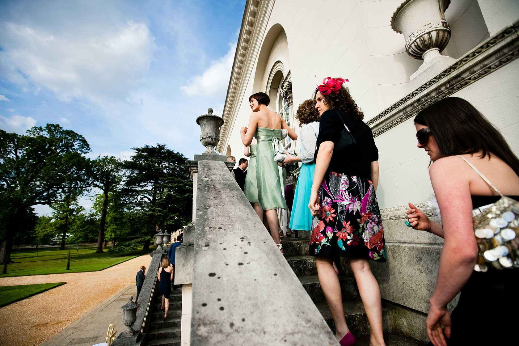 Reportage Wedding Photography at Chiswick House