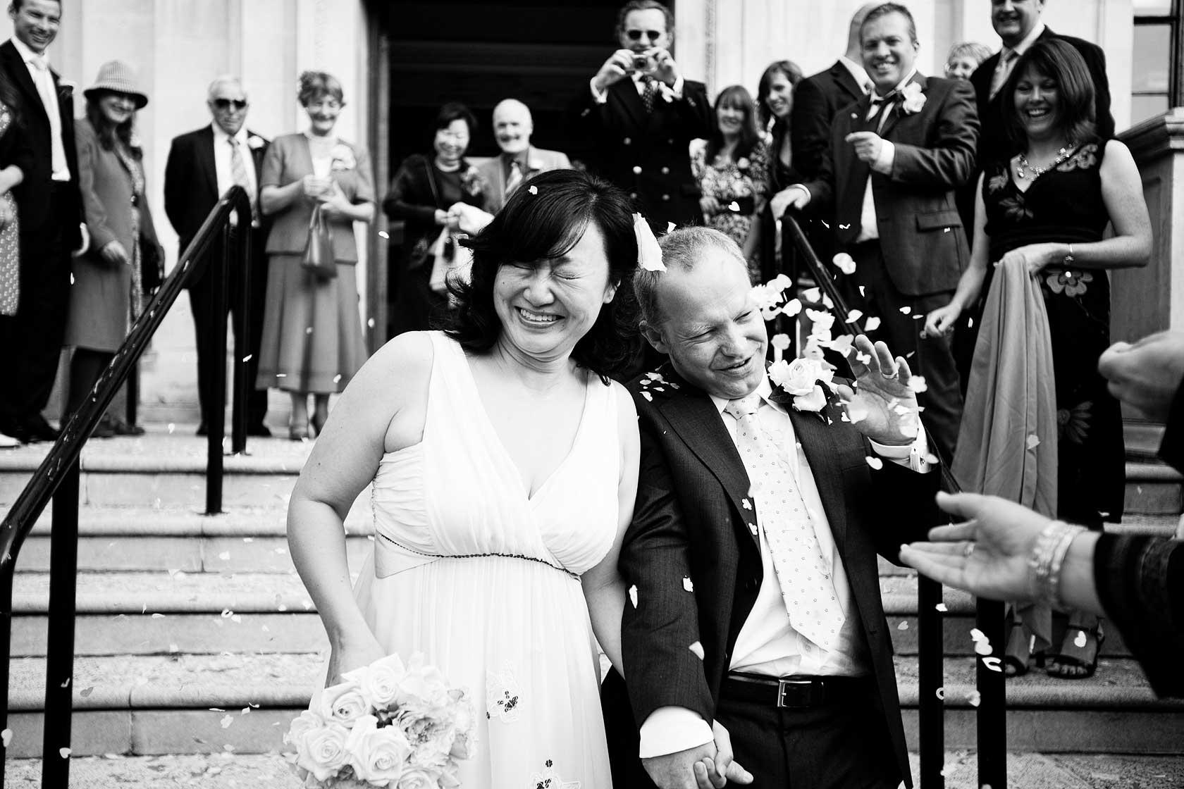 Wedding at Islington Town Hall