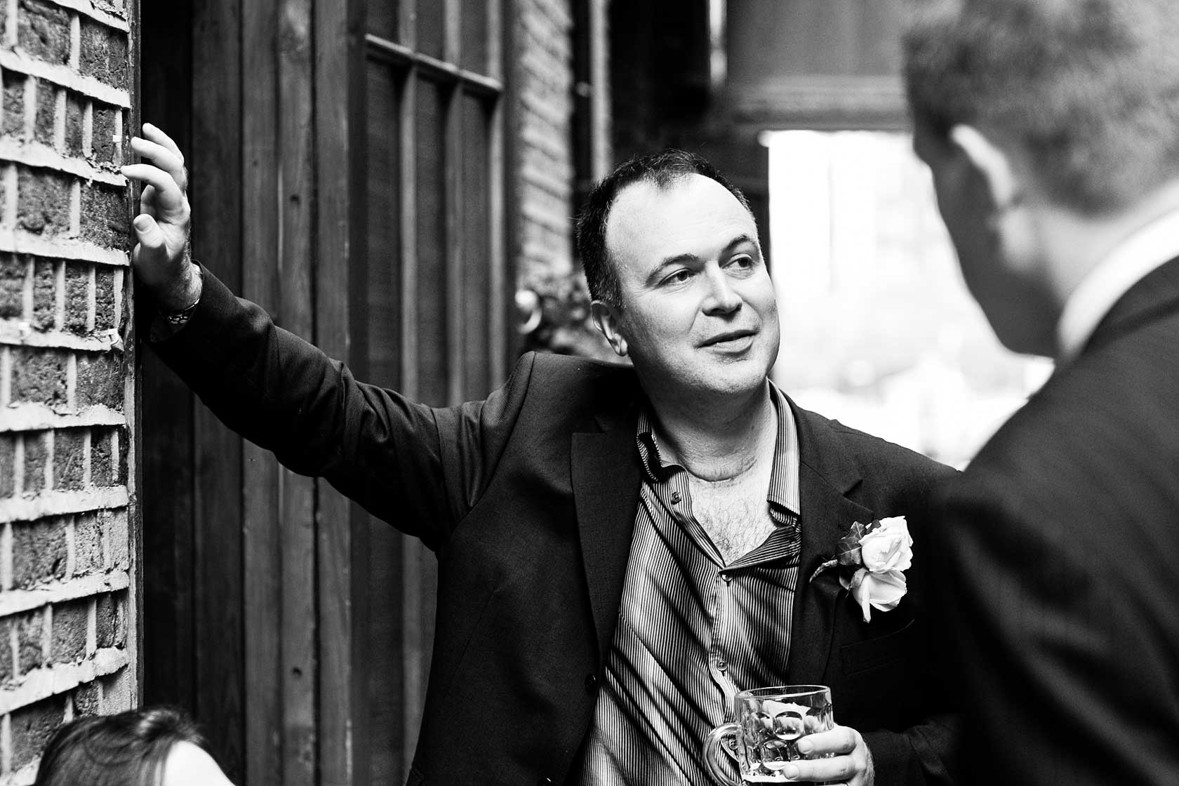 Reportage Wedding Photography at the Bleeding Heart Restaurant