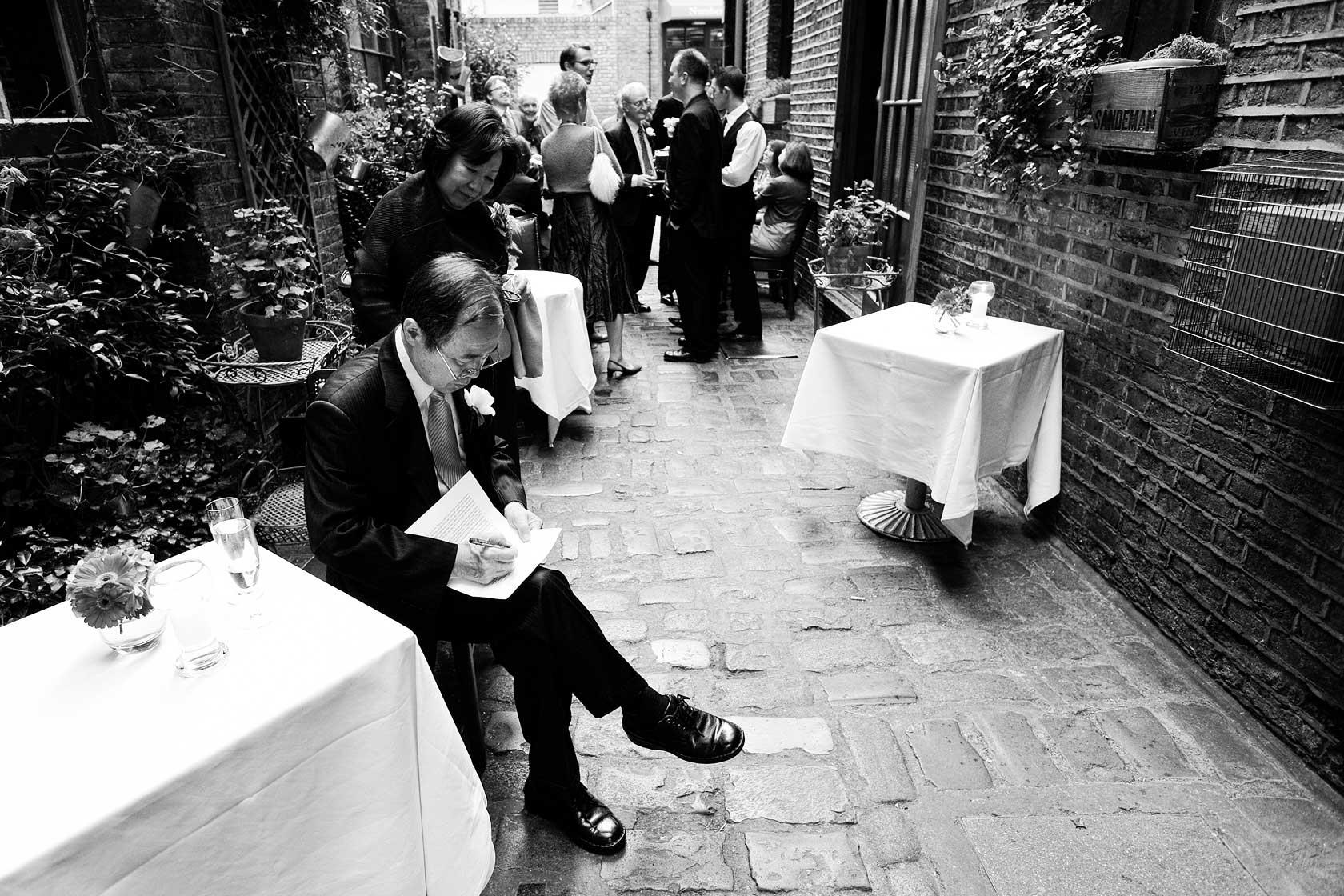 Bleeding Heart Restaurant Wedding Photography