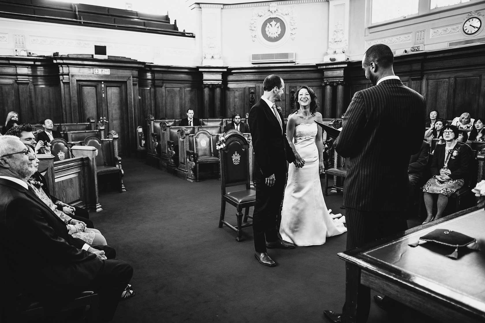 Register Office Wedding Photography