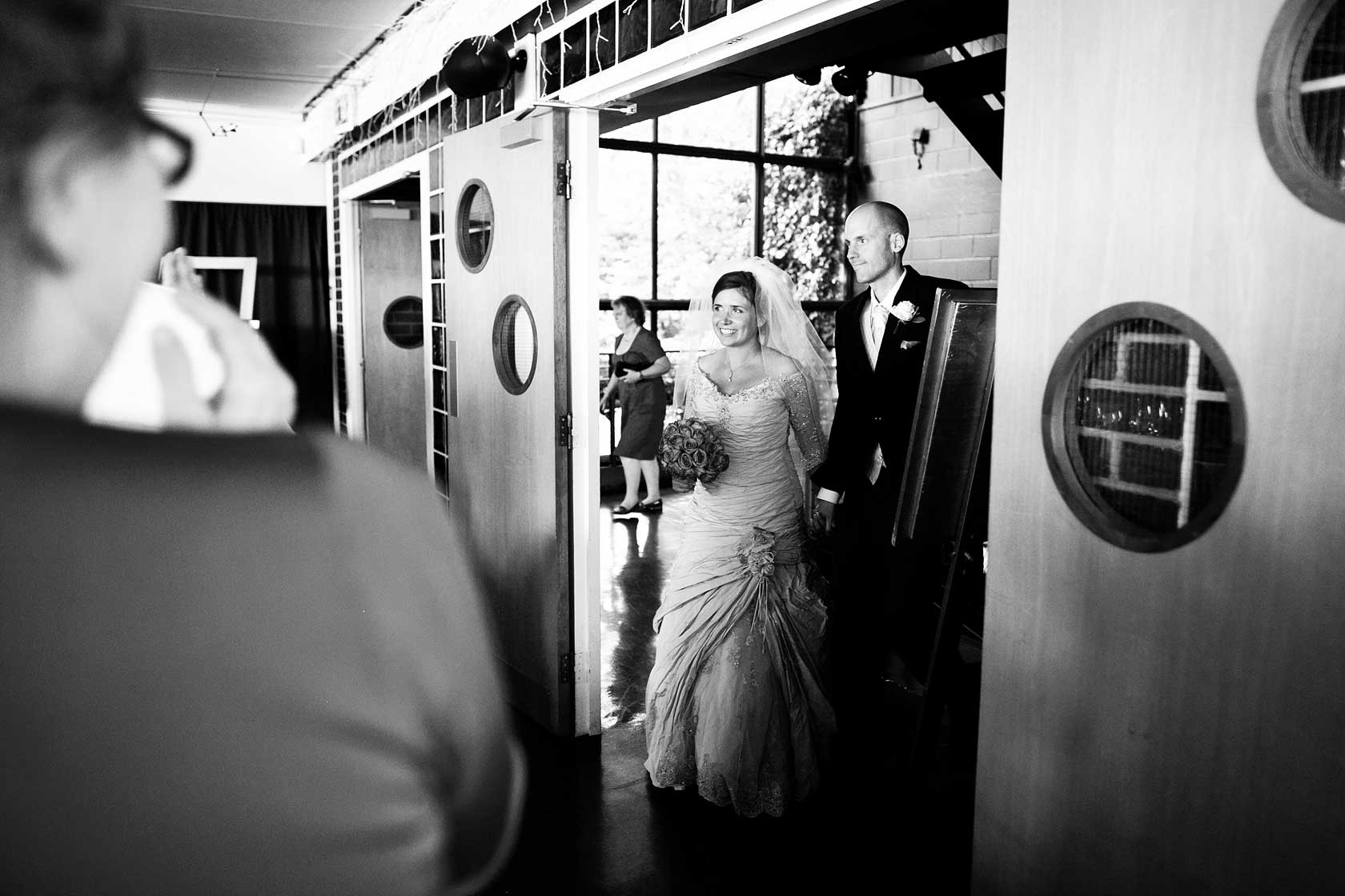 Reportage Wedding Photography at Westminster Boating Base