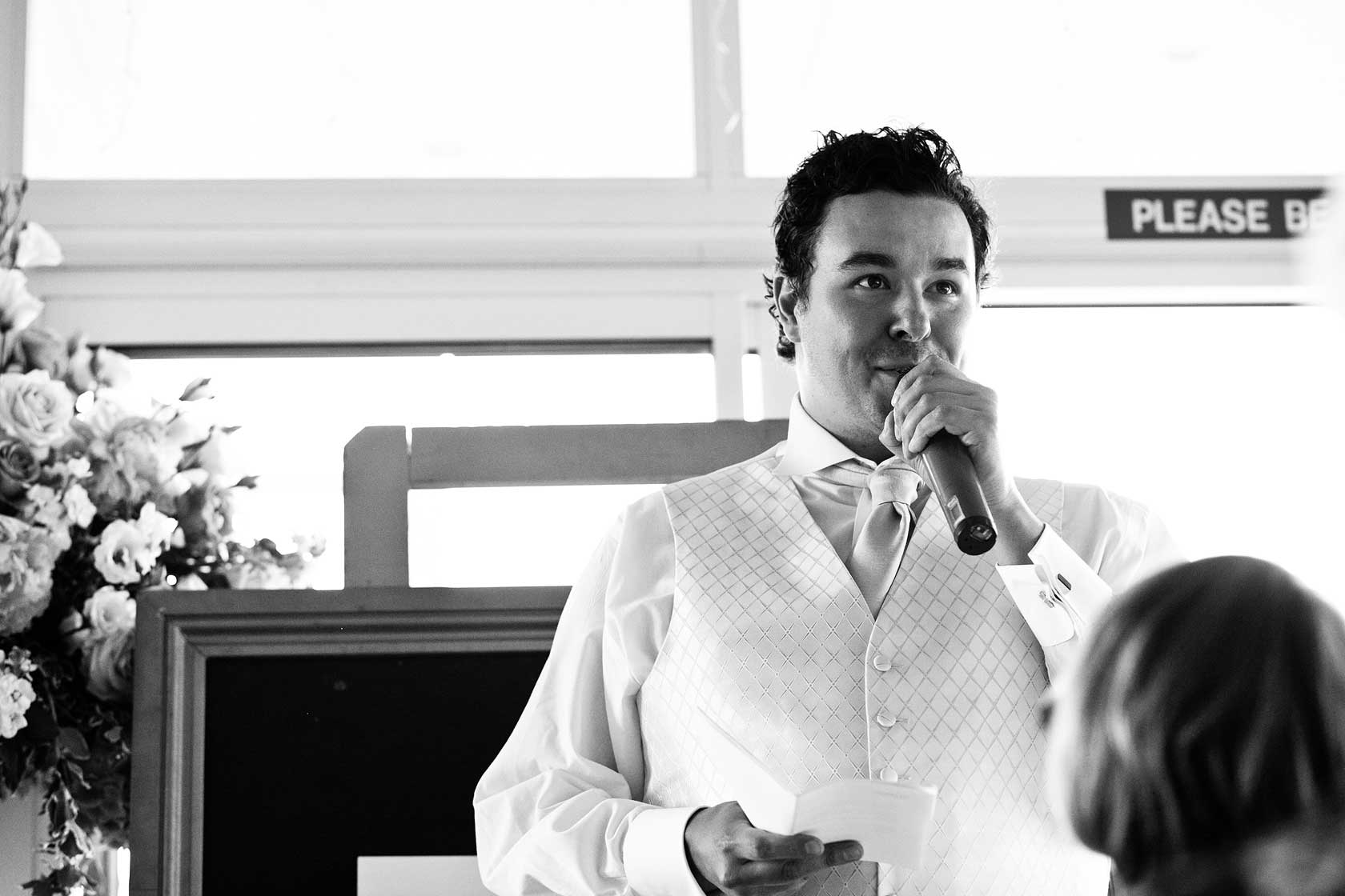 Wedding Photographer at Westminster Boating Base