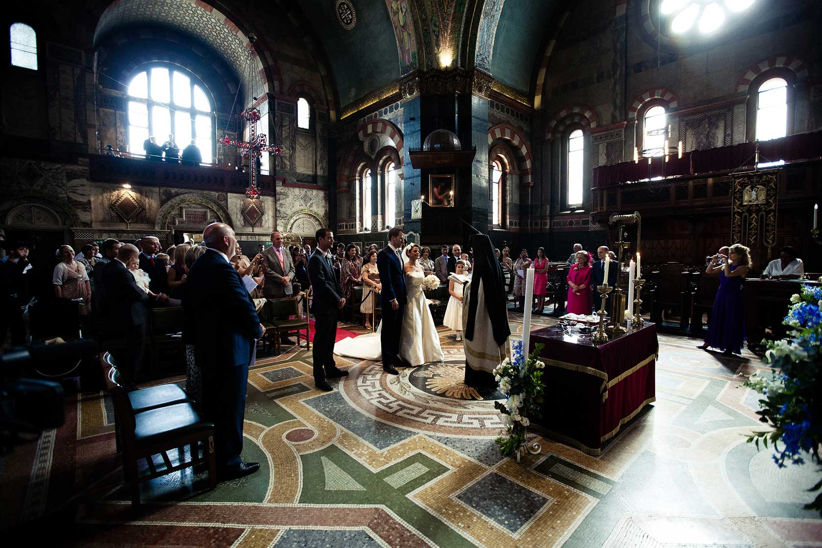 Wedding at St Sophias Cathedral