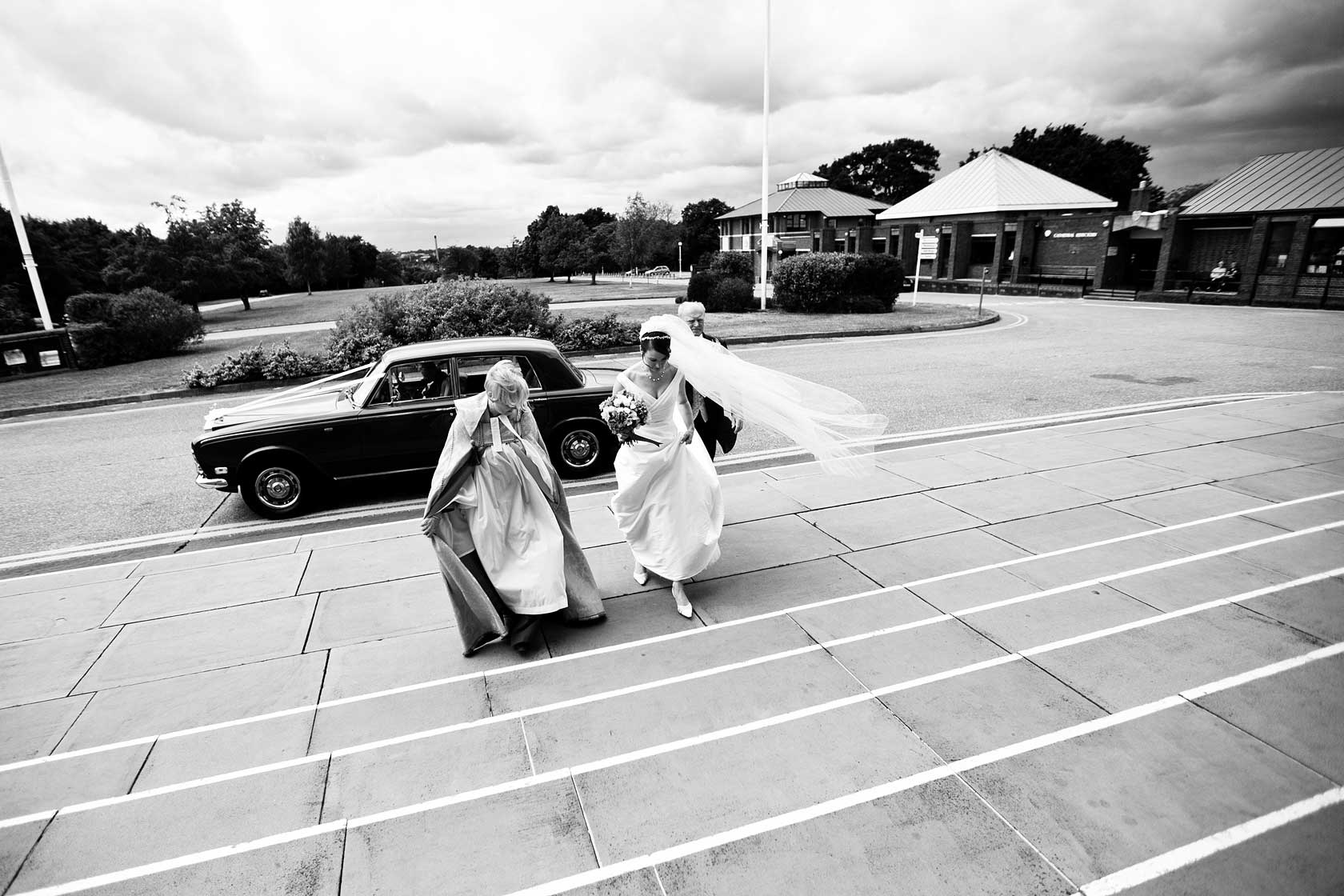 Wedding Photojournalism at Guildford Cathedral