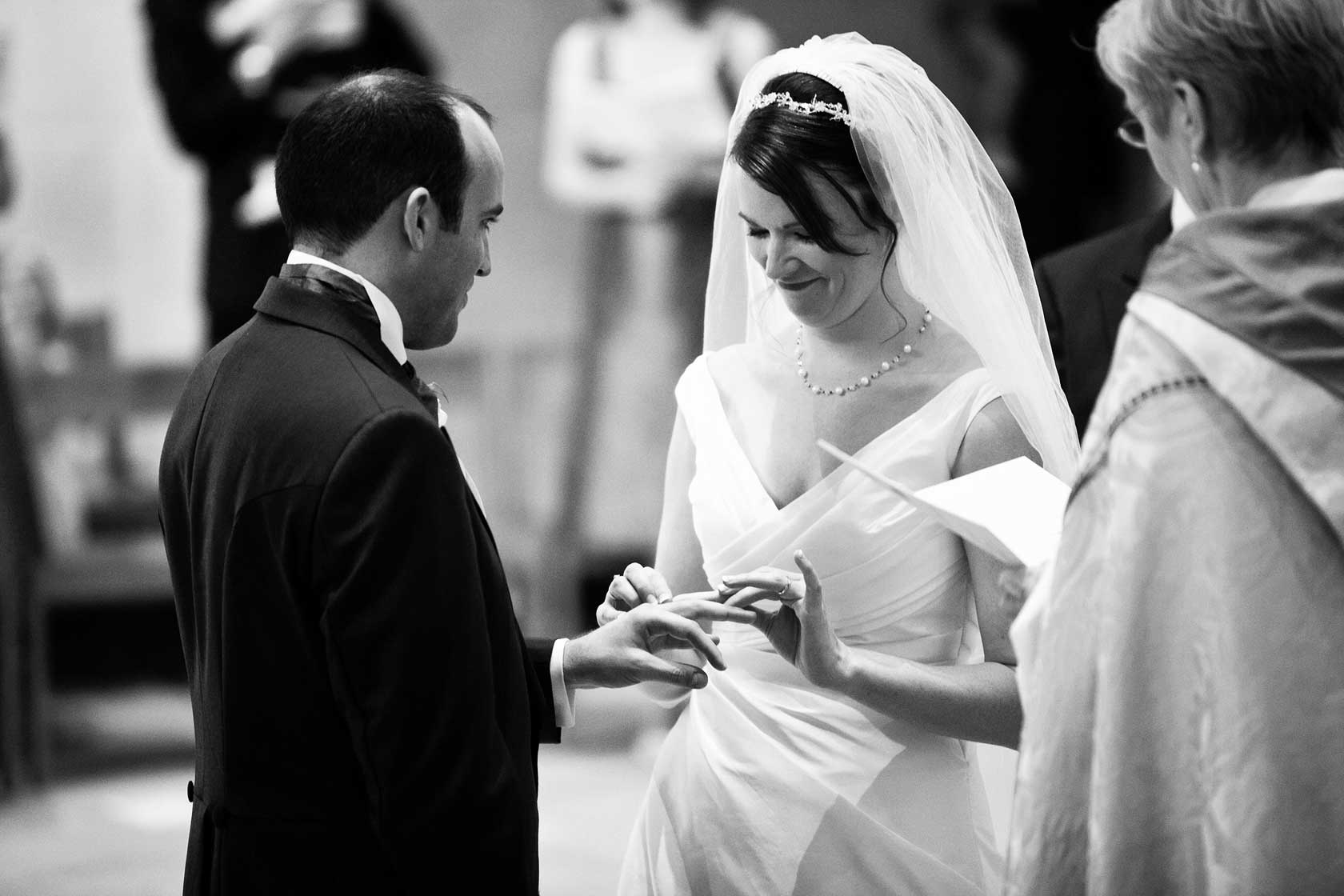 Reportage Wedding Photography at Guildford Cathedral