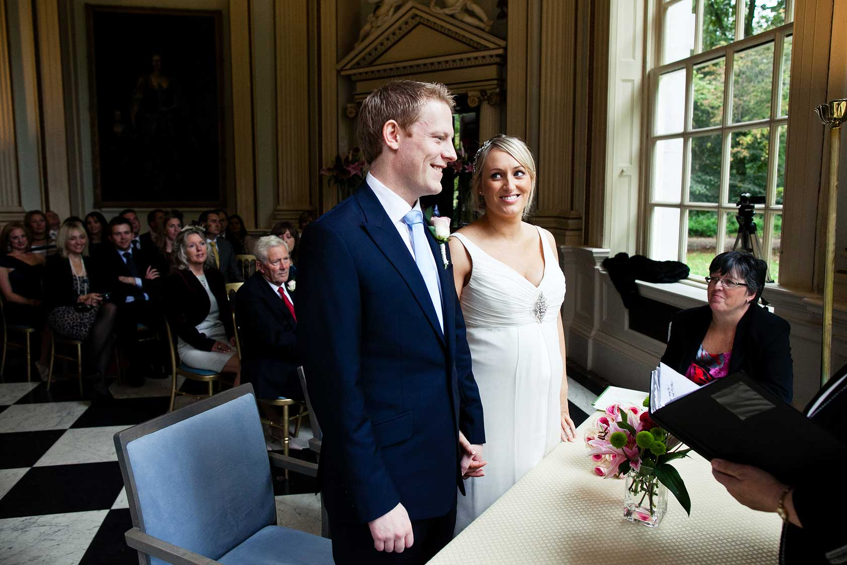 Reportage Wedding Photography in The Octagon Room