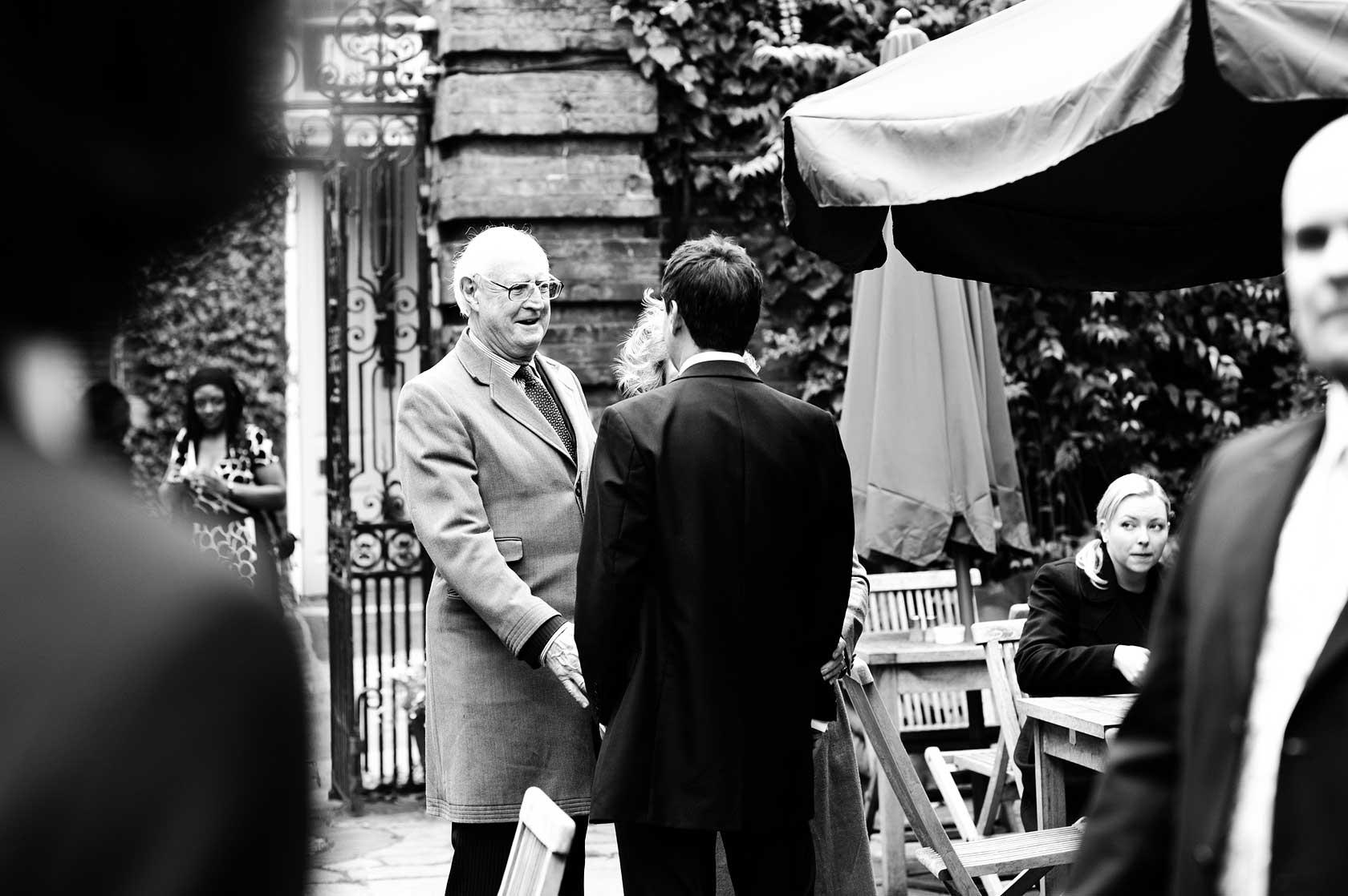 Wedding at Burgh House