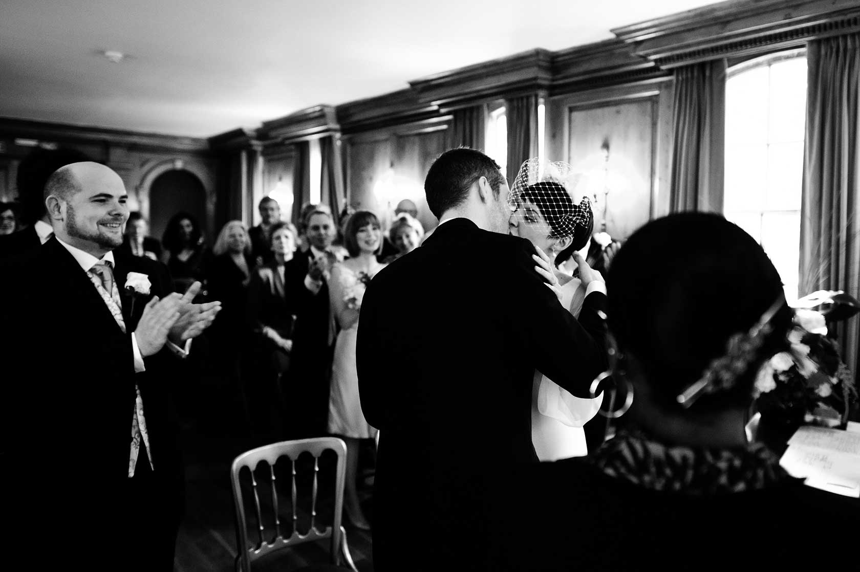 Reportage Wedding Photography in Hampstead