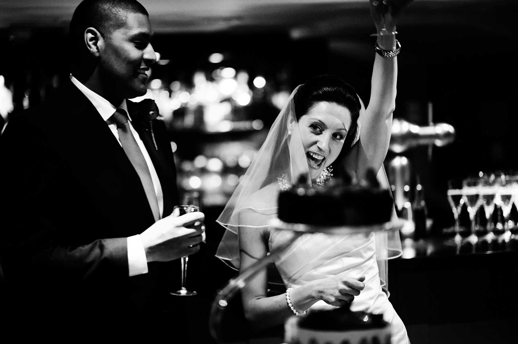 Reportage Wedding Photography at High Road House