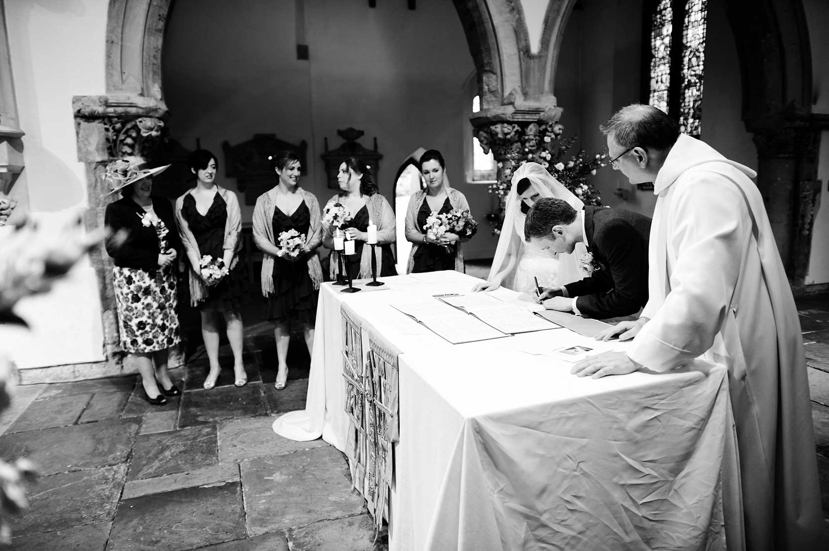 St Leonards Church Streatham Wedding Photography