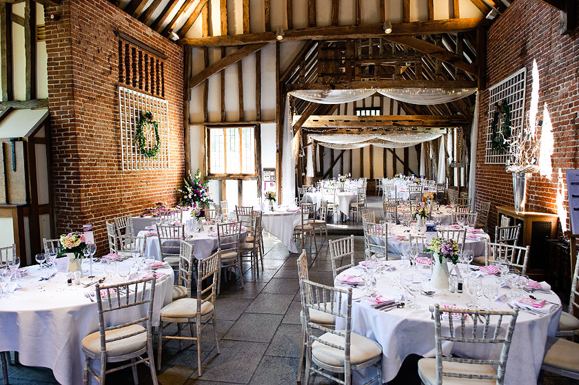 Nicola and Alex - Wedding Photography at Haughley Park Barn, Suffolk