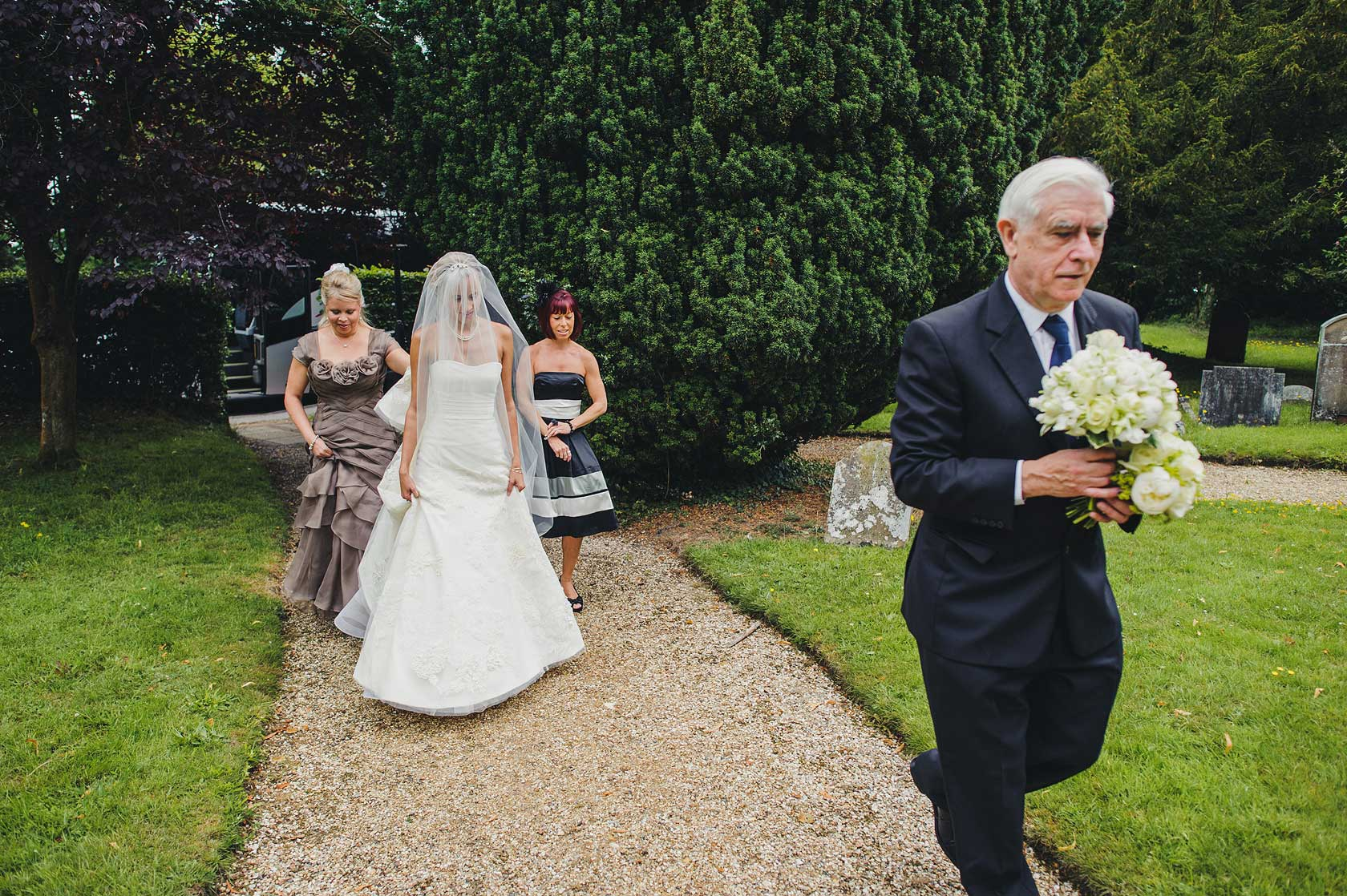 Reportage Wedding Photography at Highclere Castle