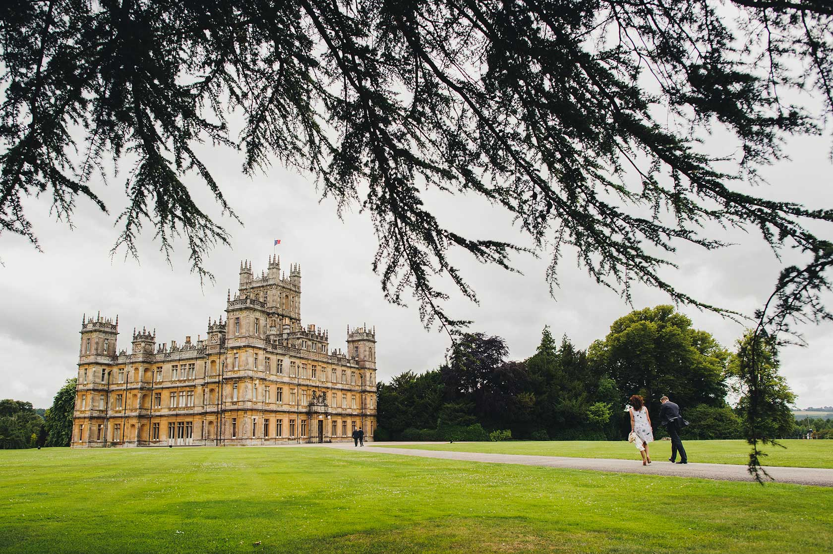 Downton Abbey Wedding Photography