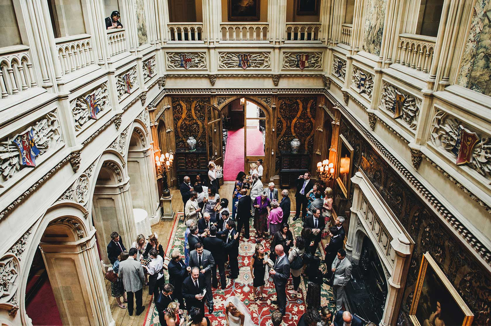 Wedding Photography at Highclere Castle