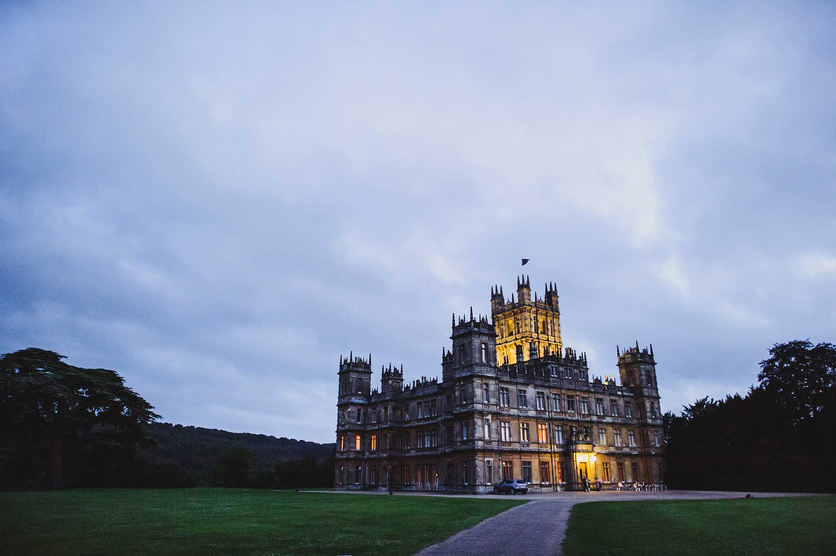 Wedding Photographer at Highclere Castle