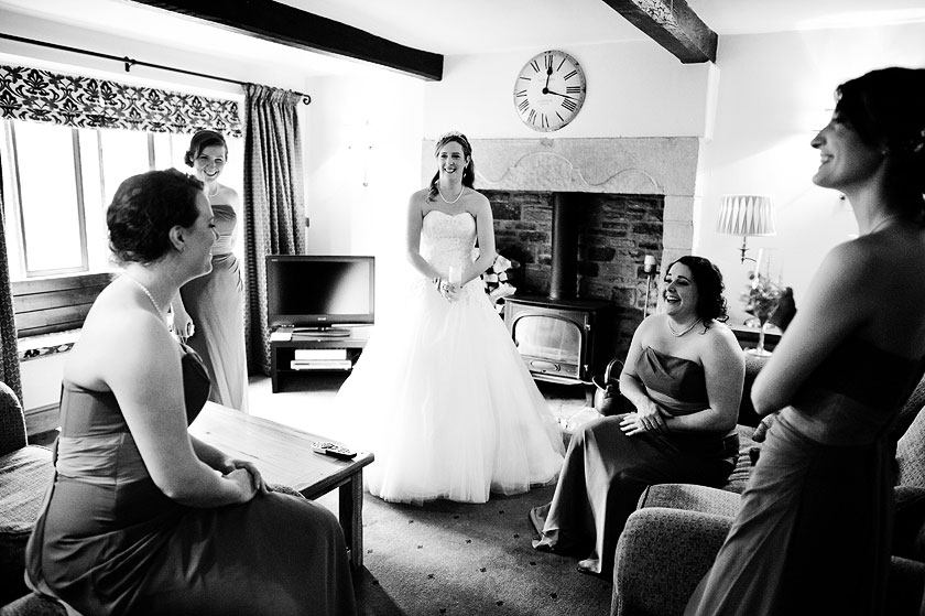 Lindsay and Mat - Wedding Photography at Newton Grange, Skipton