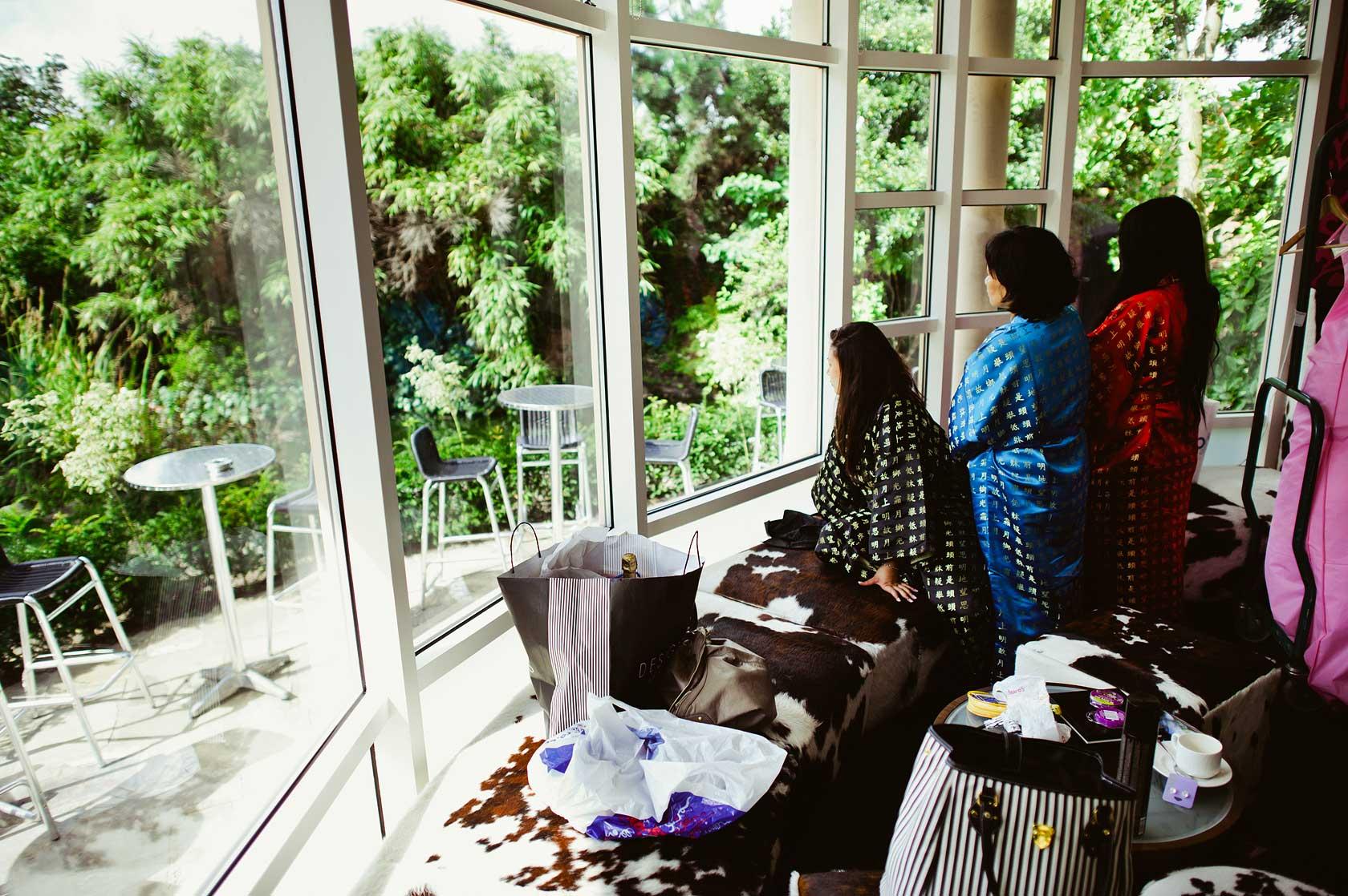Wedding Photographer at Kensington Roof Gardens