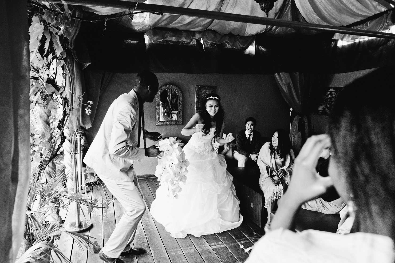 Wedding at Kensington Roof Gardens