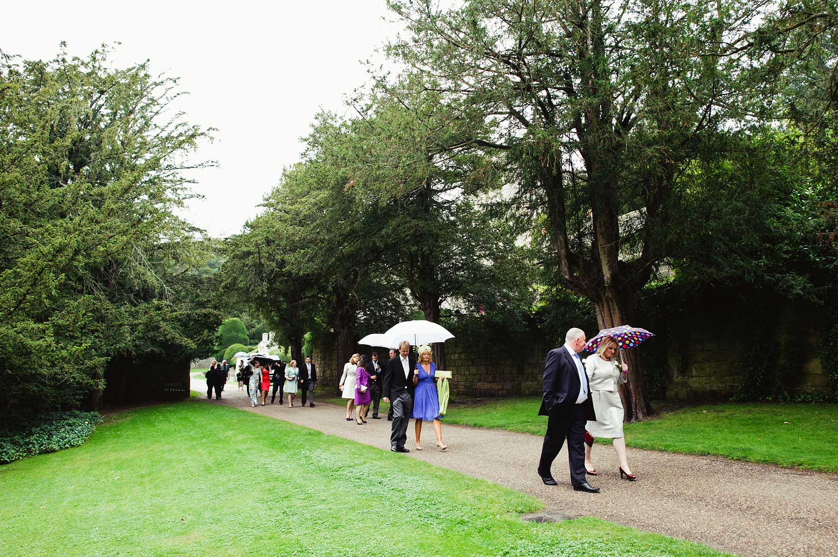 Wedding at Fountains Abbey