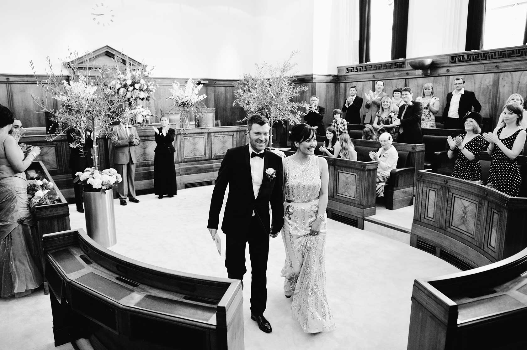 Town Hall Hotel Wedding Photographer