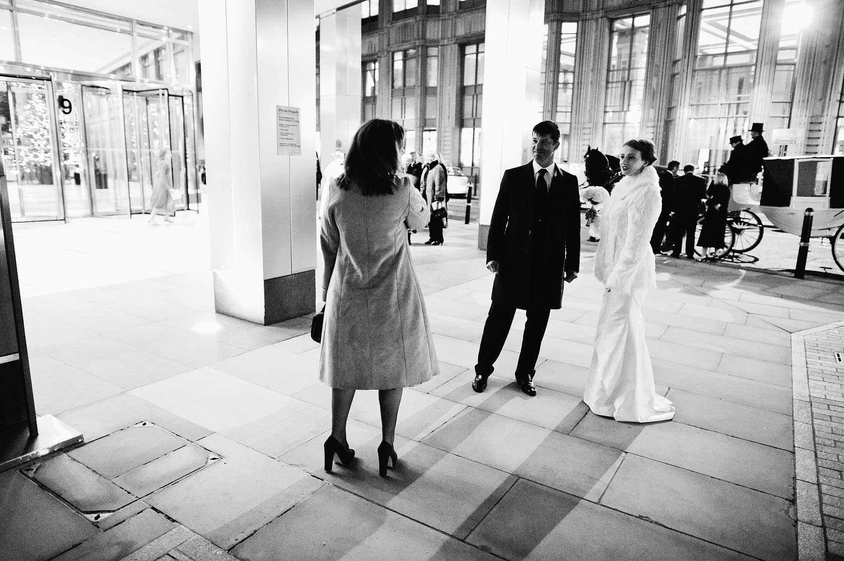 Wedding Photographer at Town Hall Hotel
