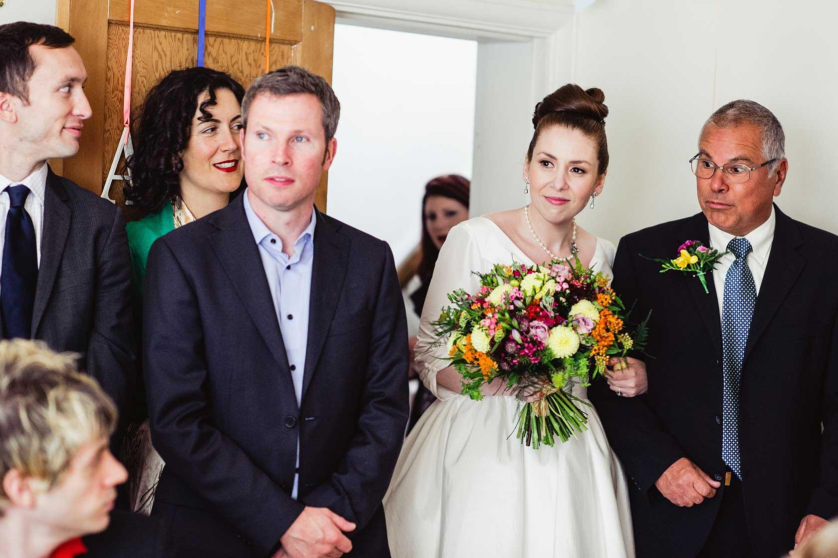 Back Garden Wedding Photographer