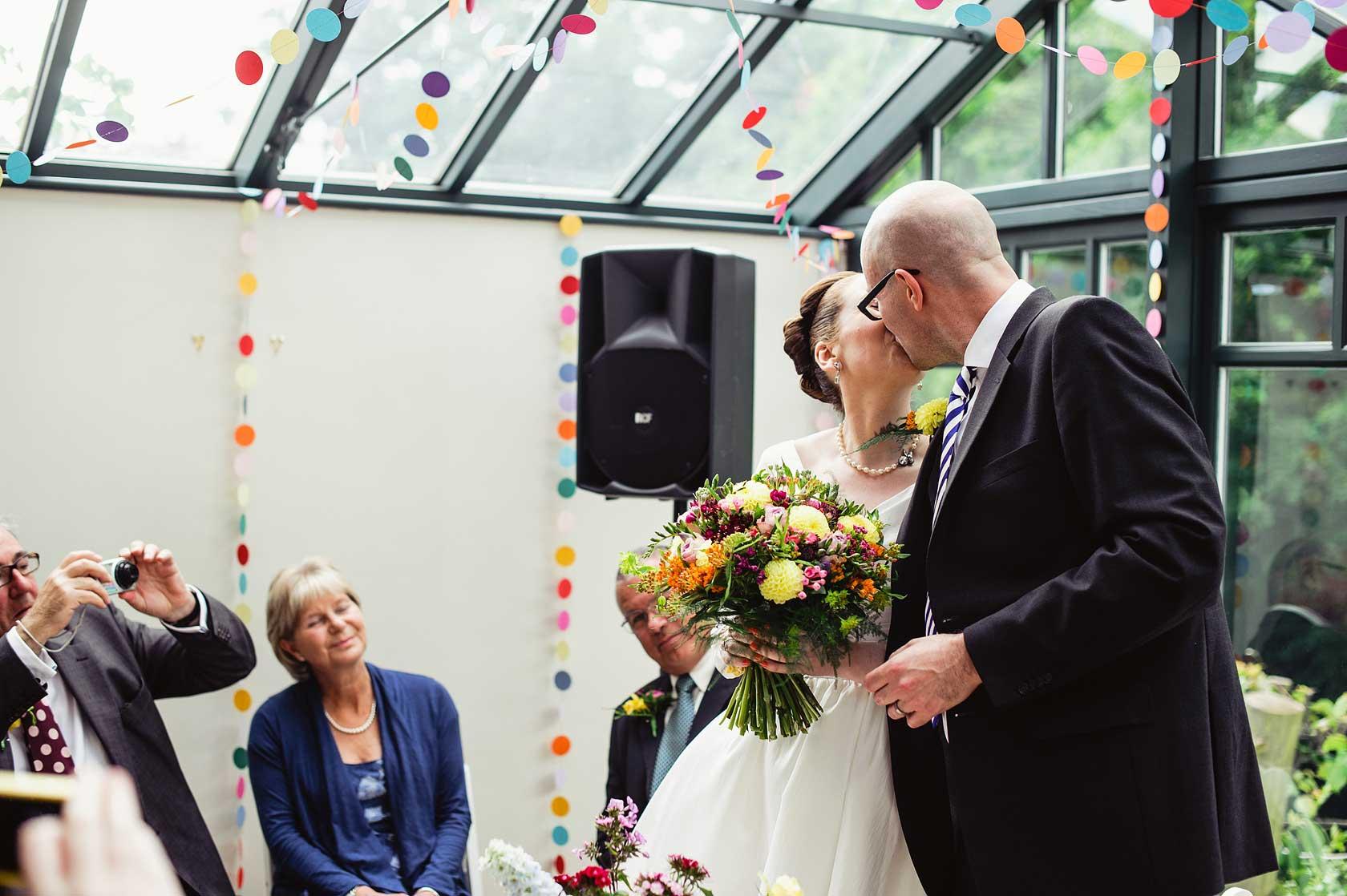 Creative Homemade Wedding