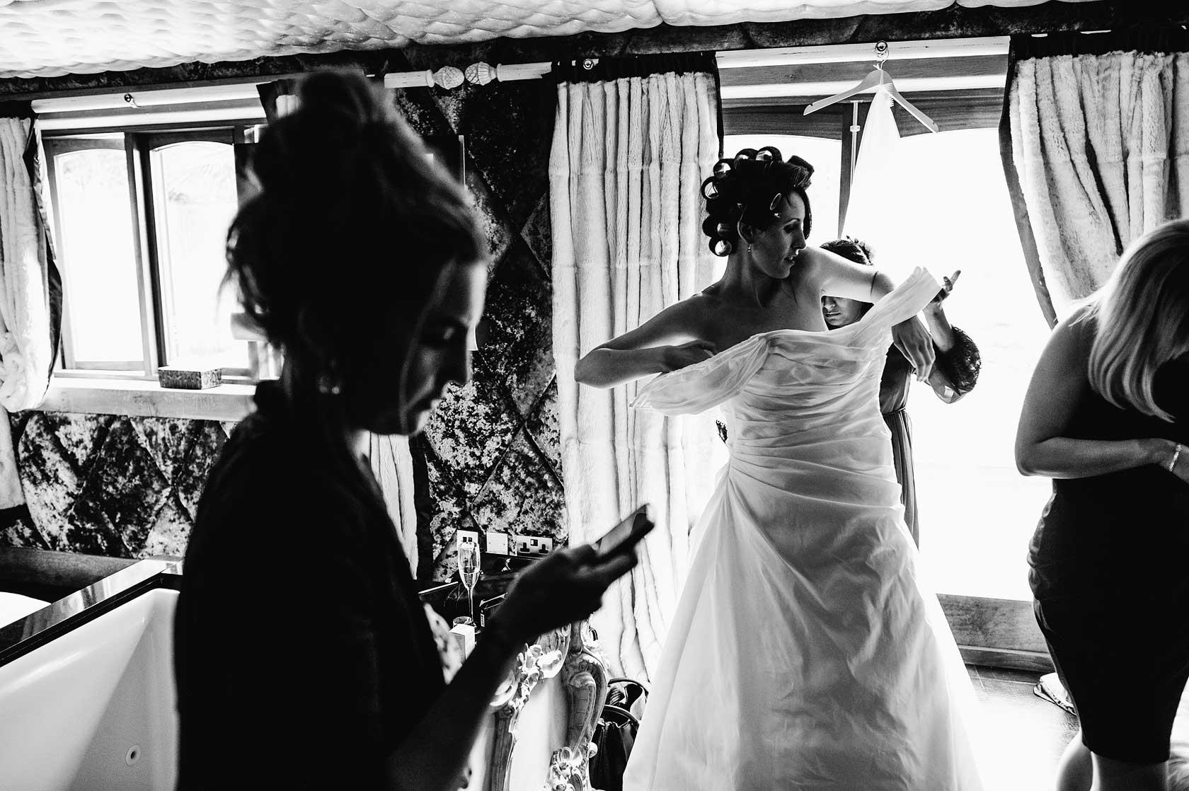 Wedding Photographer at Crazy Bear