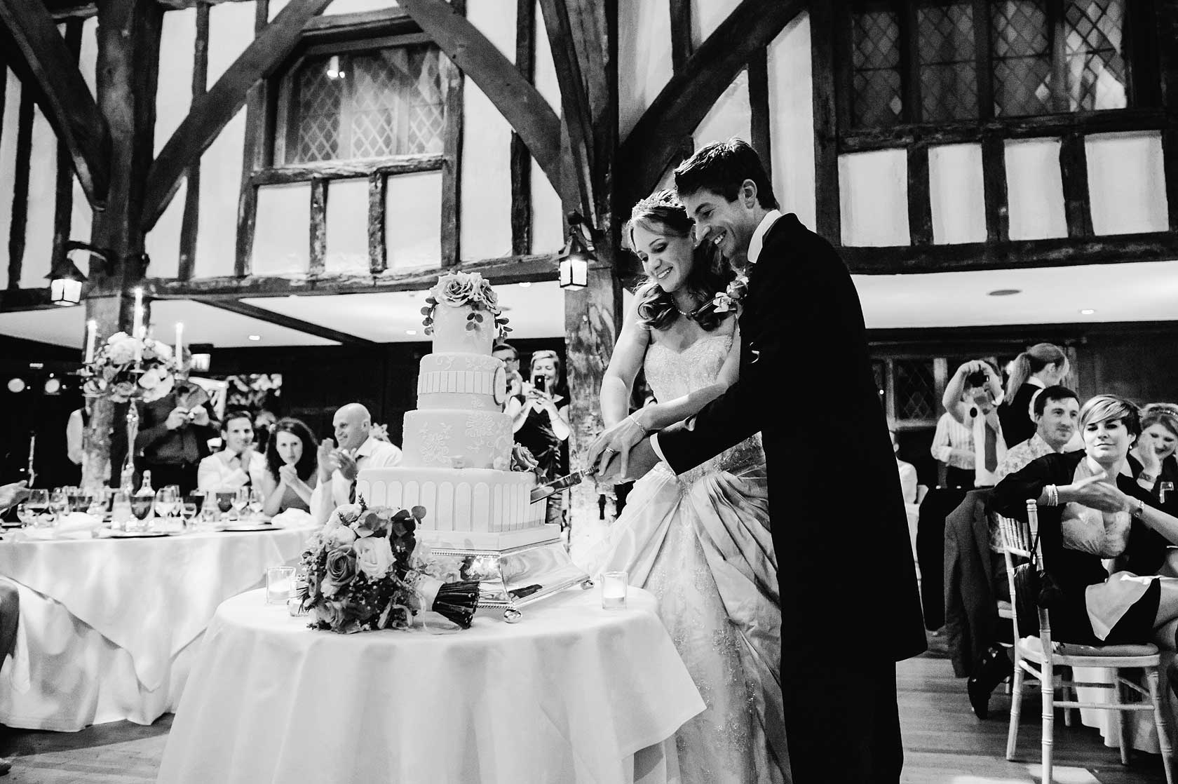 Reportage Wedding Photography at Great Fosters