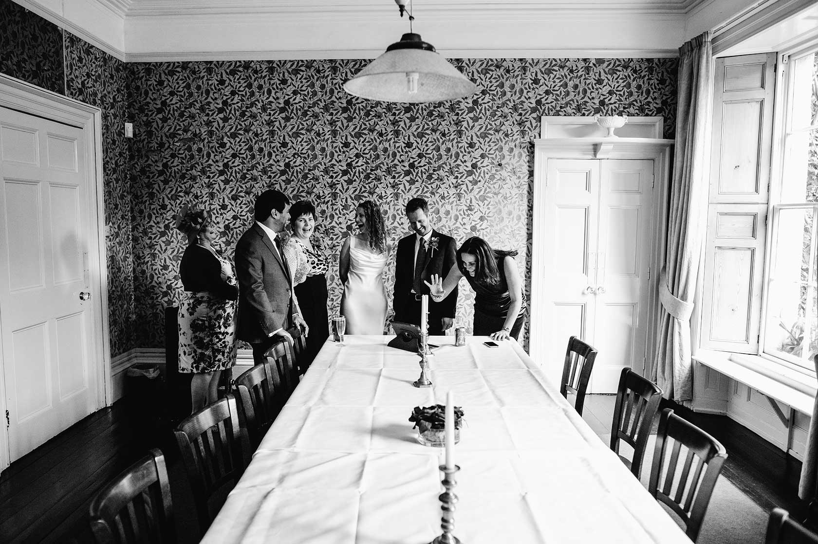 Tone Dale House Wedding Photography