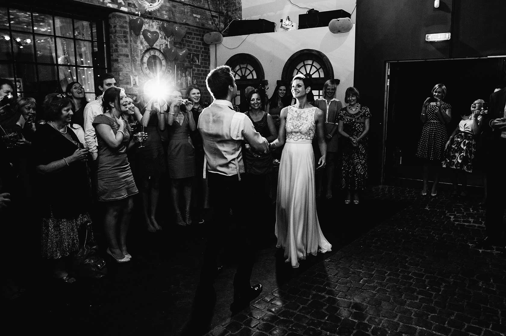 Reportage Wedding Photography at Islington Metalworks