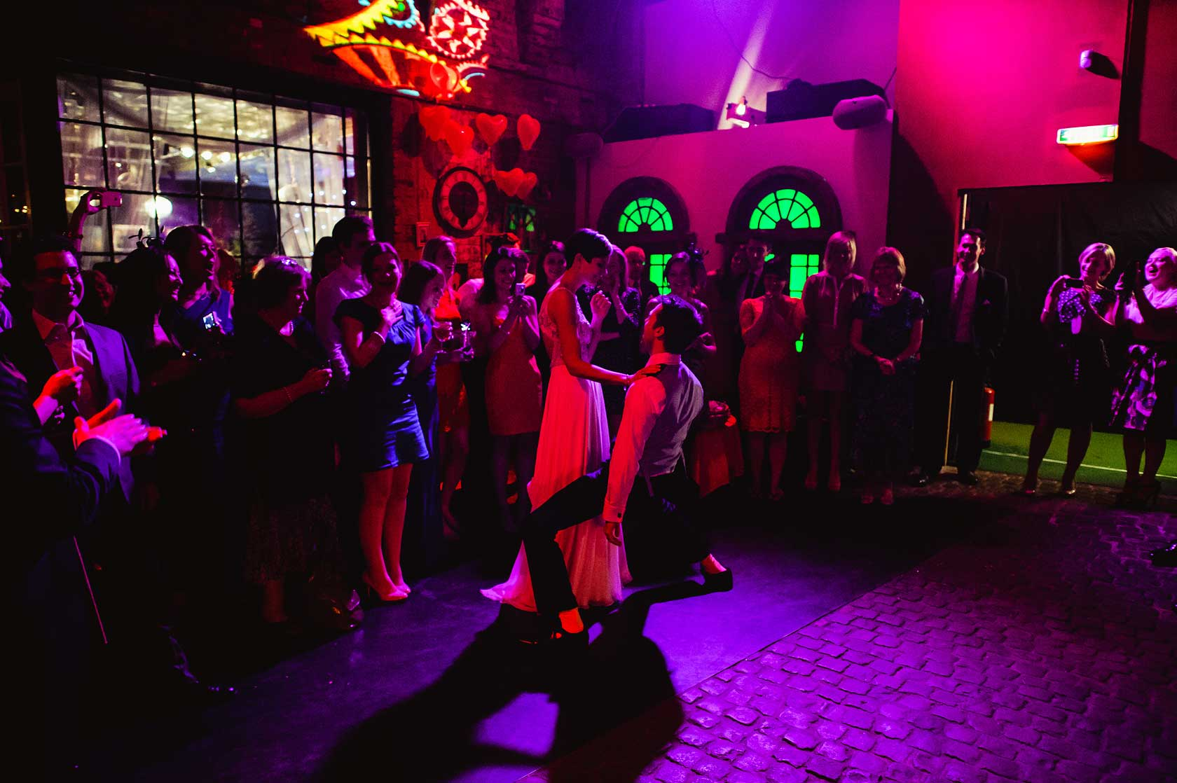 Wedding at Islington Metalworks