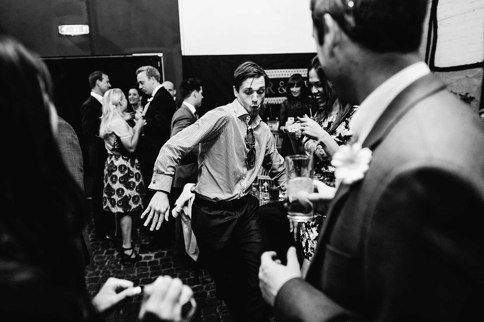 Wedding Photojournalism at Islington Metalworks