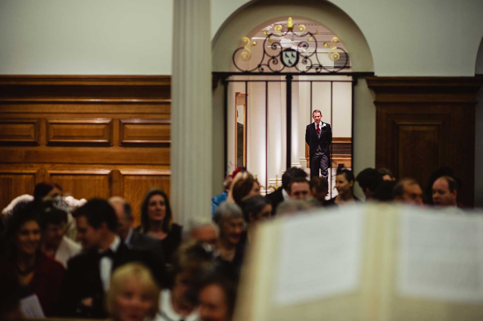 Reportage Wedding Photography at Mercers Hall