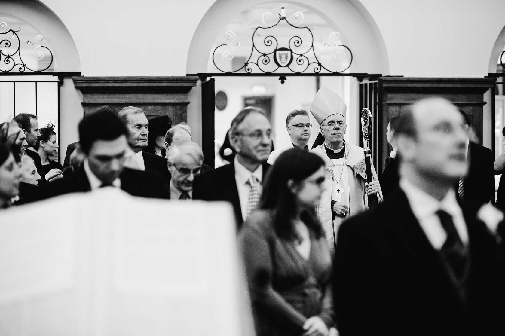 Wedding at Mercers Hall