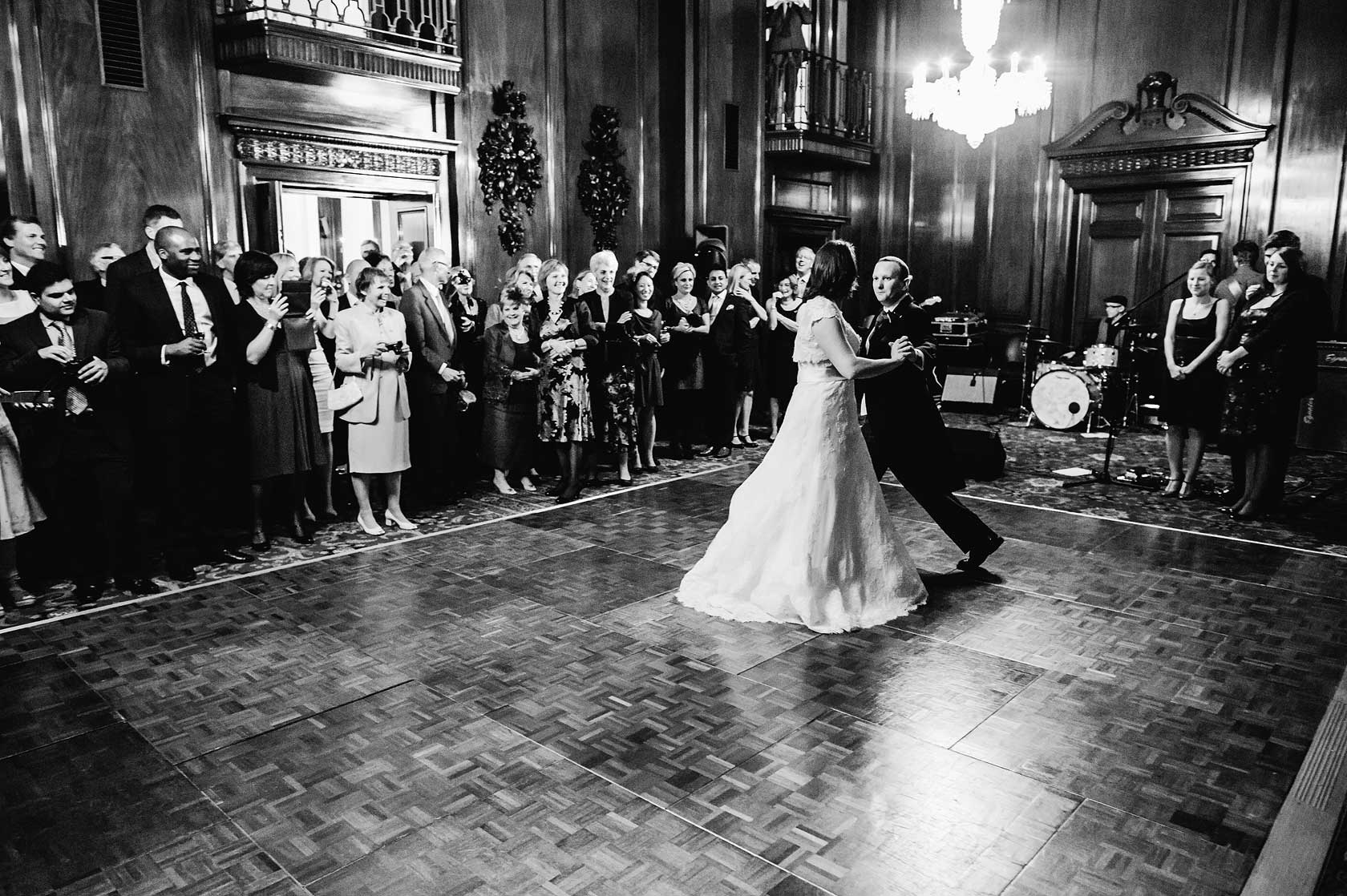 Wedding Photographer at Mercers Hall