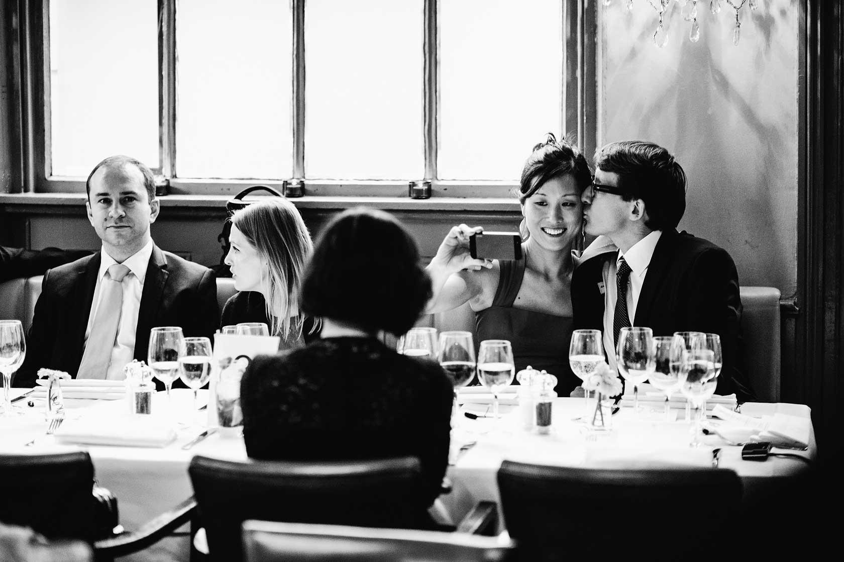 Cheyne Walk Brasserie Wedding Photographer