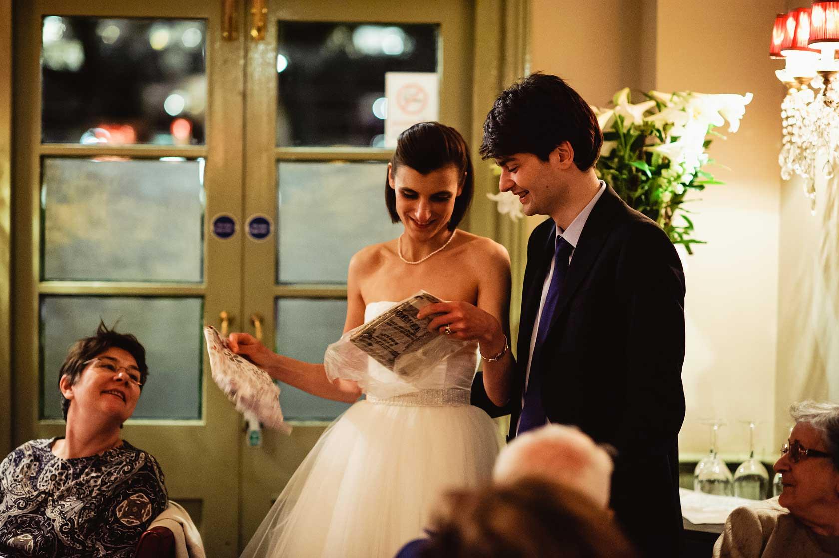 Wedding Photojournalism at Cheyne Walk Brasserie